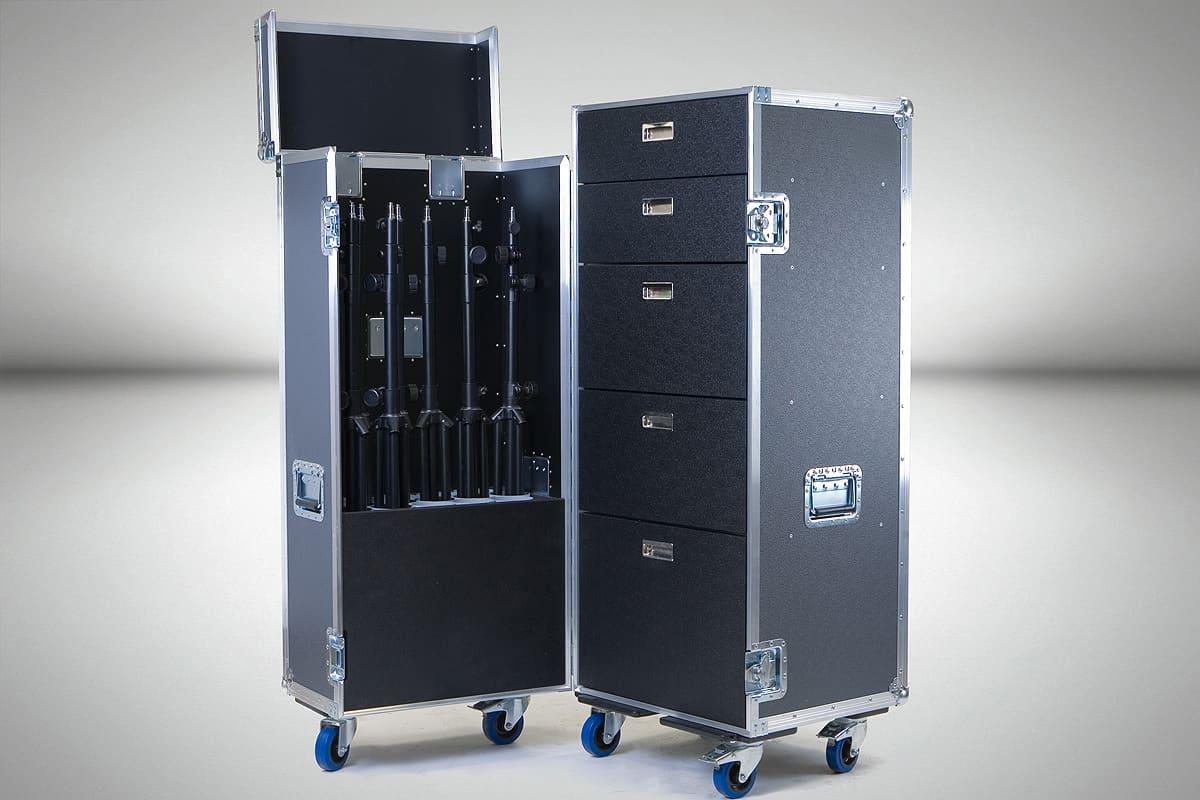 organizer flight case extreme flight case. Black Bedroom Furniture Sets. Home Design Ideas