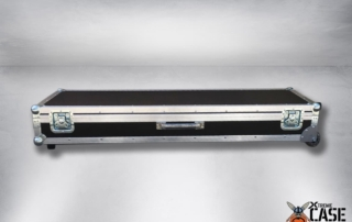 Flight Case Clape Korg PA4X 76 cu roti 1