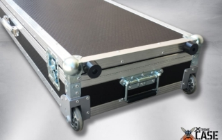 Flight Case Clape Korg PA4X 76 cu roti 4