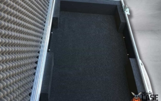 Flight Case Clape Korg PA4X 76 cu roti 7