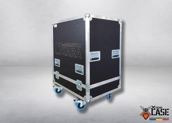 Flight Case 3x L-Acoustics KARA 2