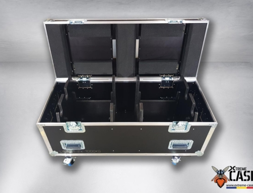 Flight Case 2x Motor Liftket 1T – 1000 kg (double)