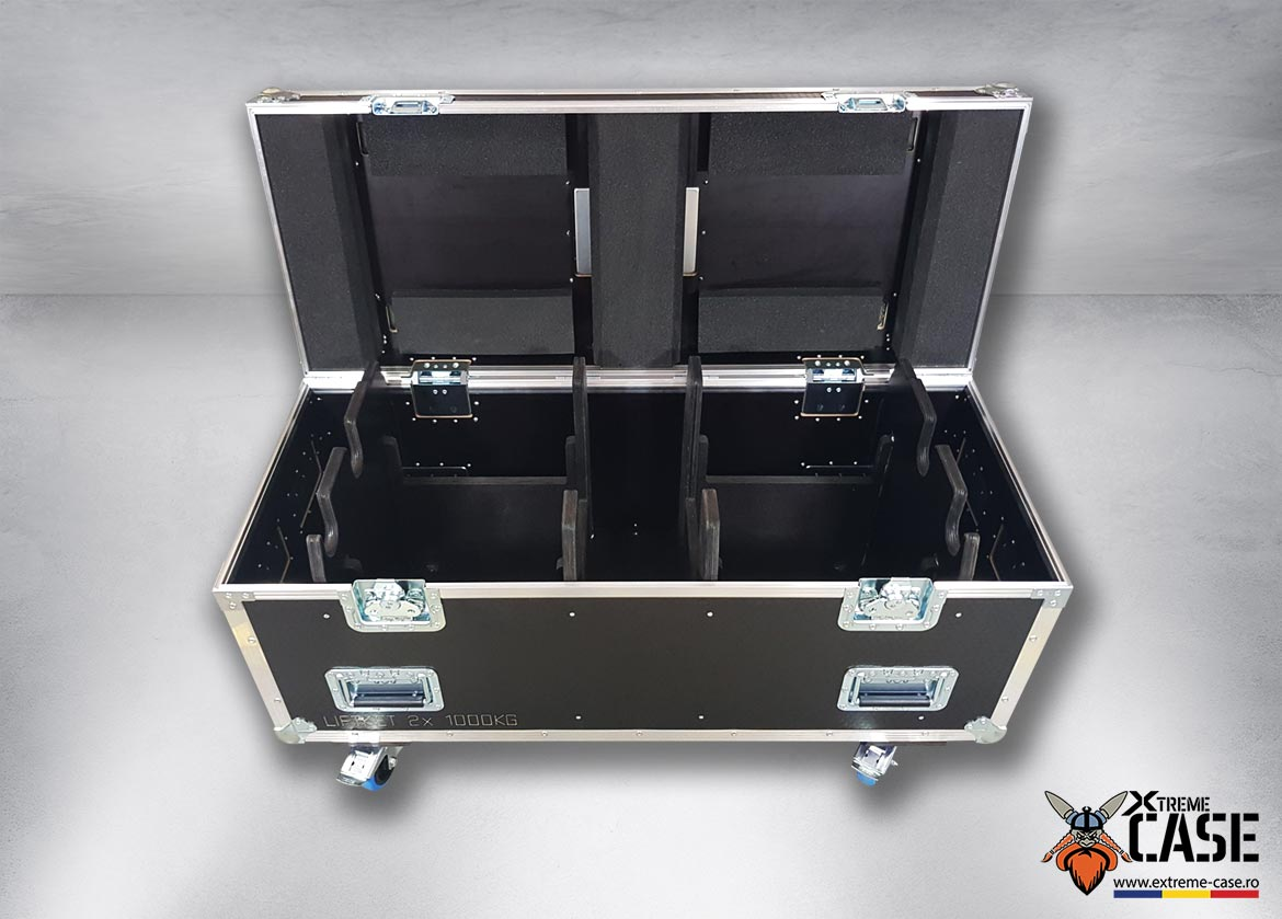 Flight Case 2x Motor Liftket 1T - 1000 kg (double) 7