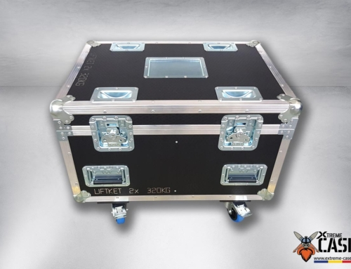 Flight Case 2x Motor Liftket 250 kg / 320 kg (double)