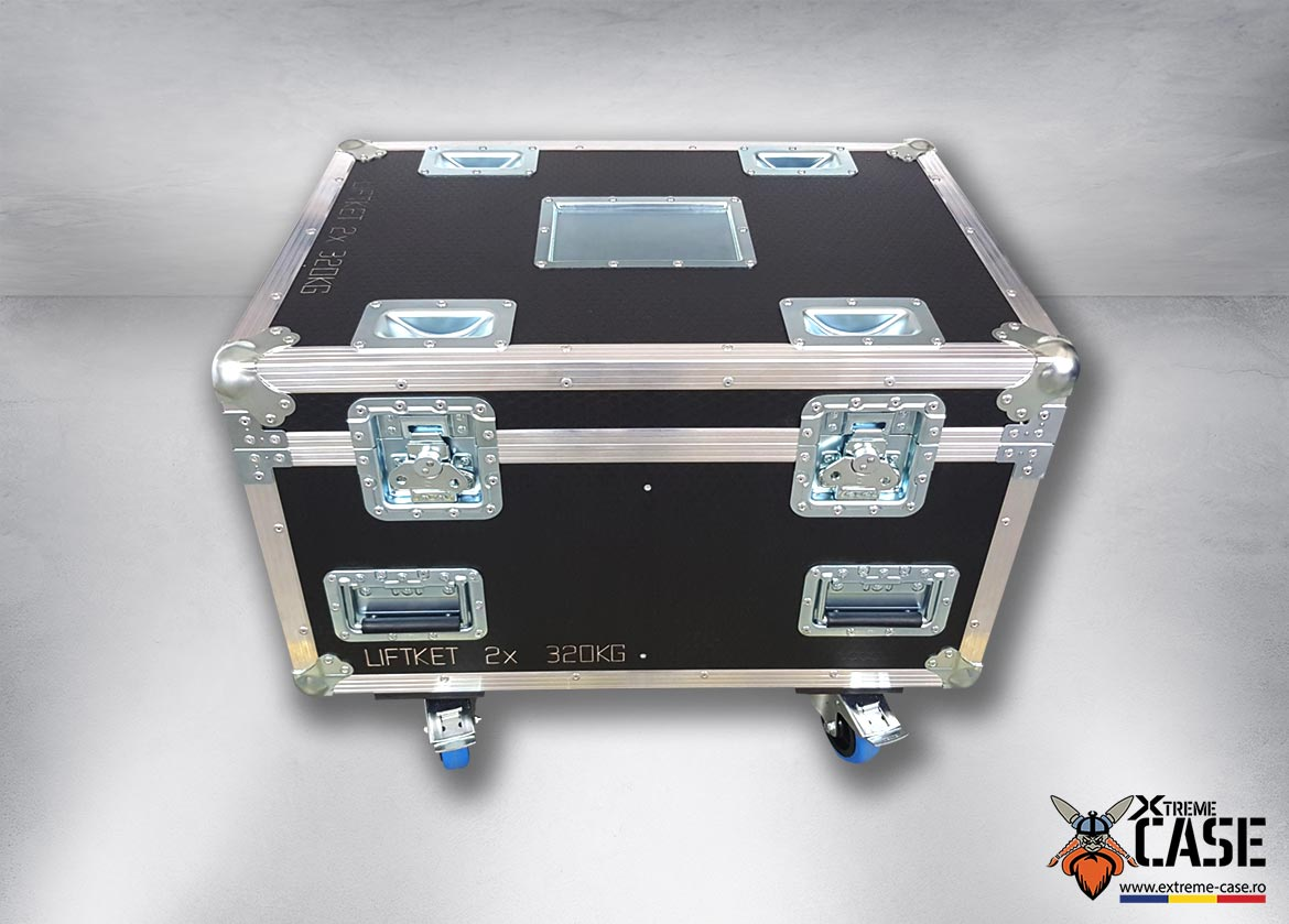 Flight Case 2x Motor Liftket 250 kg / 320 kg (double) 2